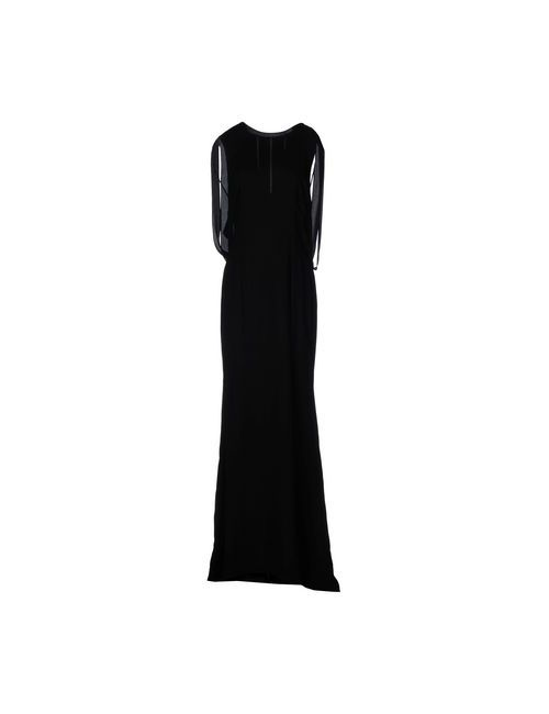 Gai Mattiolo | Женское Чёрное Длинное Платье