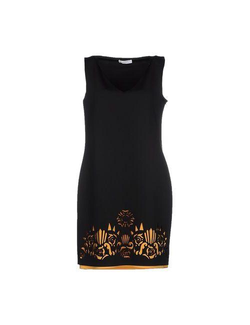 Versace Collection | Женское Чёрное Короткое Платье