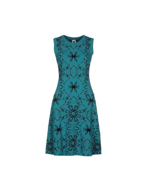 Missoni | Женское Зелёное Короткое Платье