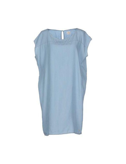 Des Petits Hauts   Женское Голубой Короткое Платье