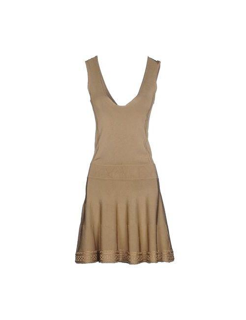 Scervino Street   Женское Песочное Короткое Платье