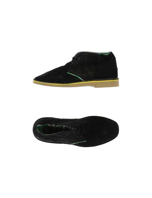 Le Crown | Мужская Чёрная Обувь На Шнурках
