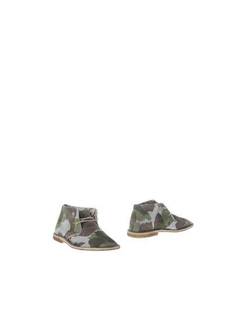 Le Crown | Мужские Зелёные Полусапоги И Высокие Ботинки
