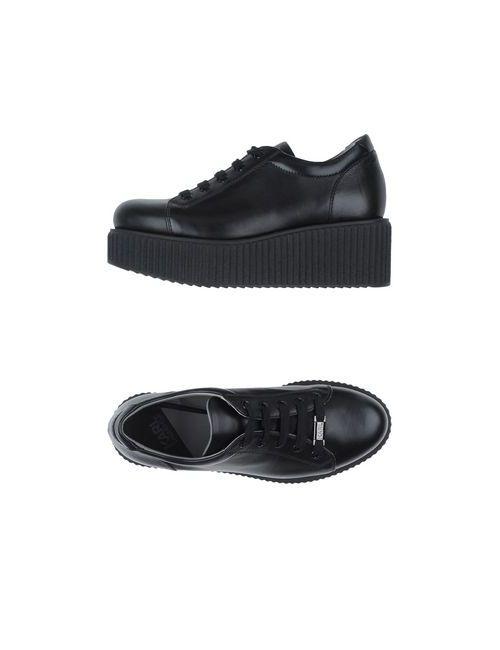Karl Lagerfeld | Мужские Чёрные Низкие Кеды И Кроссовки