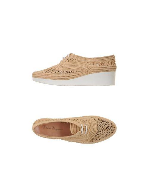 Robert Clergerie | Женская Песочная Обувь На Шнурках