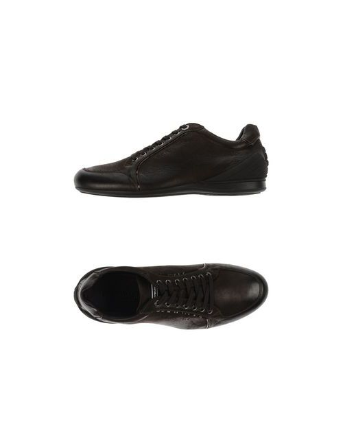 Emporio Armani | Мужская Коричневая Обувь На Шнурках
