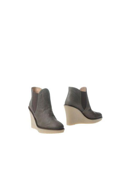 Emporio Armani | Женские Коричневые Полусапоги И Высокие Ботинки