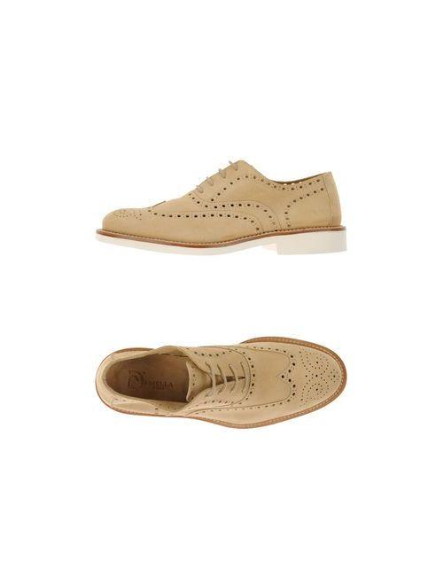 Di Mella | Мужская Серая Обувь На Шнурках
