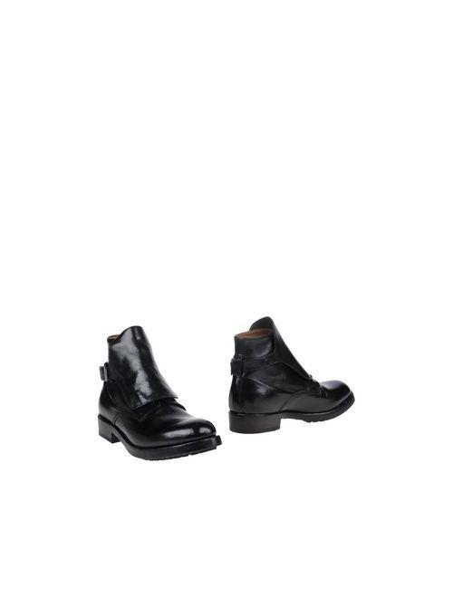 Officine Creative | Женские Чёрные Полусапоги И Высокие Ботинки