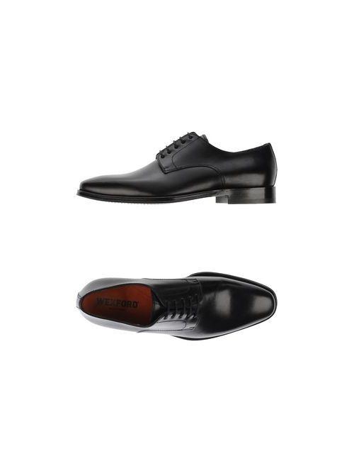Wexford | Мужская Чёрная Обувь На Шнурках