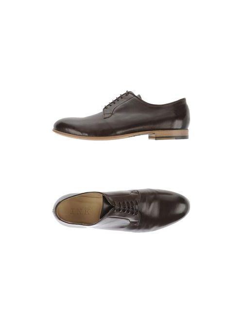 Ink | Мужская Коричневая Обувь На Шнурках