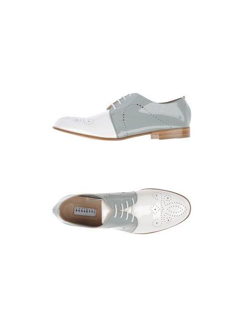 Fratelli Rossetti | Женская Белая Обувь На Шнурках