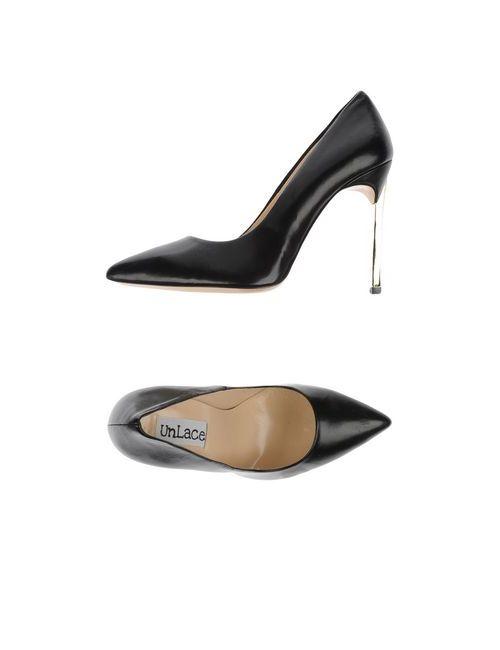 UNLACE | Женские Чёрные Туфли