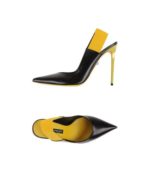 Philippe Model | Женские Чёрные Туфли