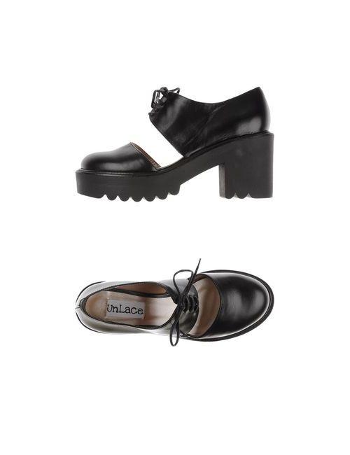 UNLACE | Женская Черный Обувь На Шнурках