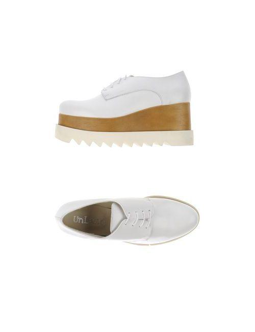 UNLACE | Женская Белая Обувь На Шнурках