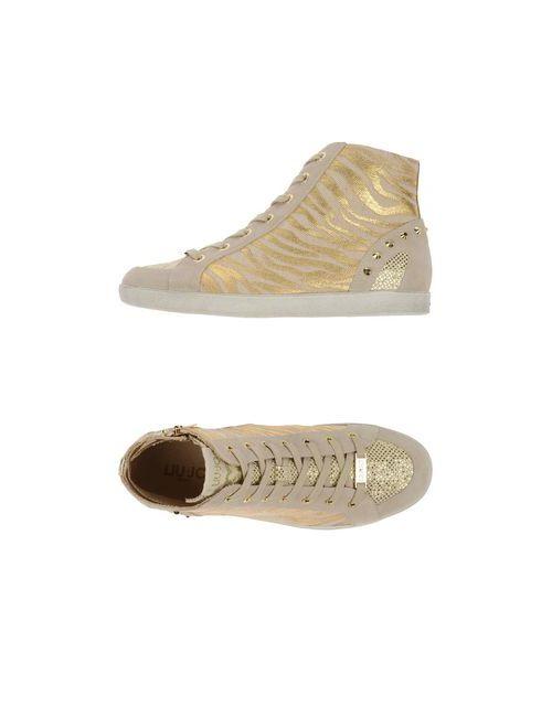Liu •Jo Shoes | Женские Золотистые Высокие Кеды И Кроссовки