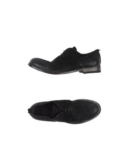 Moma | Женская Чёрная Обувь На Шнурках