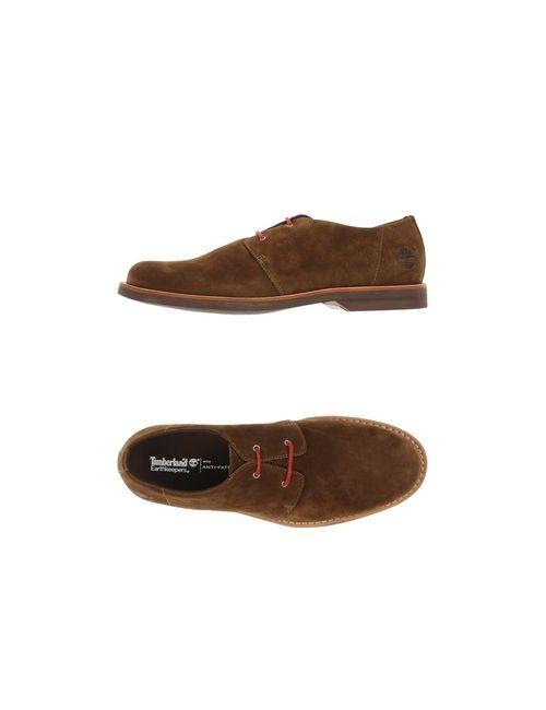 Timberland | Мужская Хаки Обувь На Шнурках