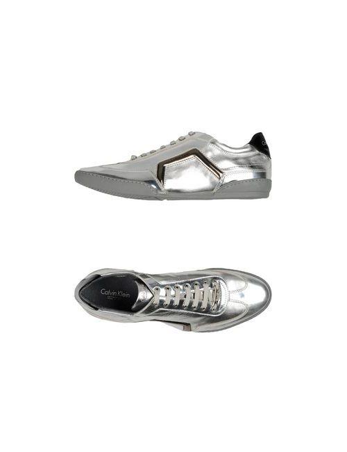 Calvin Klein Collection | Мужские Серебристые Низкие Кеды И Кроссовки