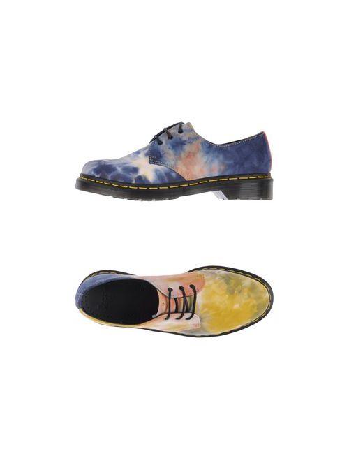 Dr. Martens | Мужская Жёлтая Обувь На Шнурках