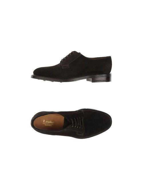 Loake | Мужская Коричневая Обувь На Шнурках