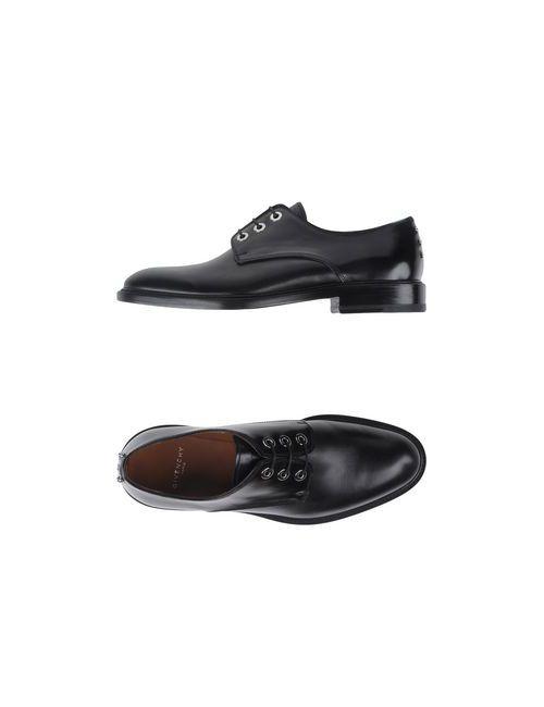 Givenchy | Мужская Чёрная Обувь На Шнурках