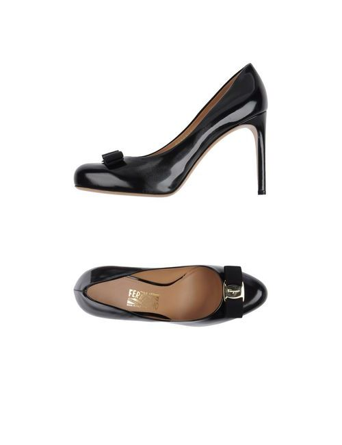 Salvatore Ferragamo | Женские Чёрные Туфли