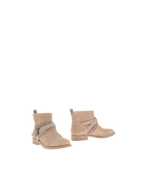 Brunello Cucinelli | Женские Хаки Полусапоги И Высокие Ботинки
