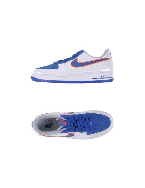 Nike | Мужские Белые Низкие Кеды И Кроссовки