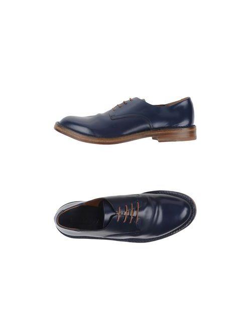 Buttero | Мужская Синяя Обувь На Шнурках
