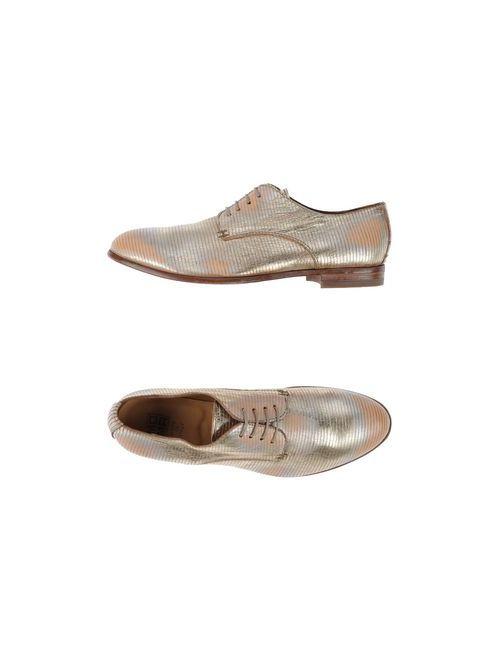 Moma | Женская Платиновая Обувь На Шнурках