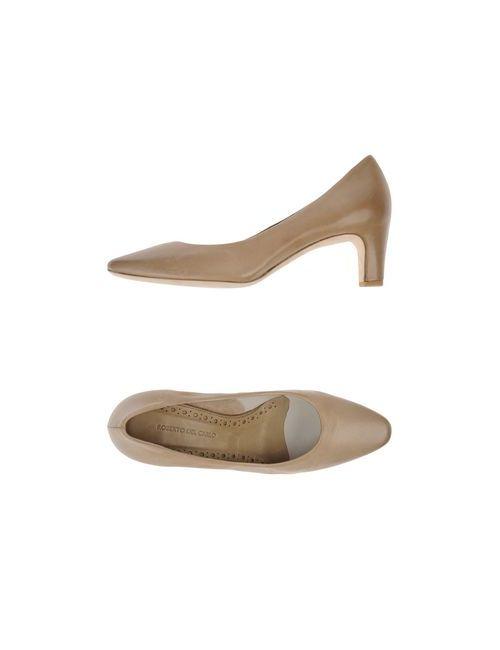 Roberto Del Carlo | Женские Бежевые Туфли