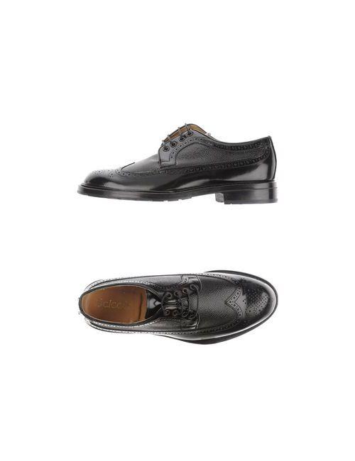 Scíccò | Мужская Черный Обувь На Шнурках