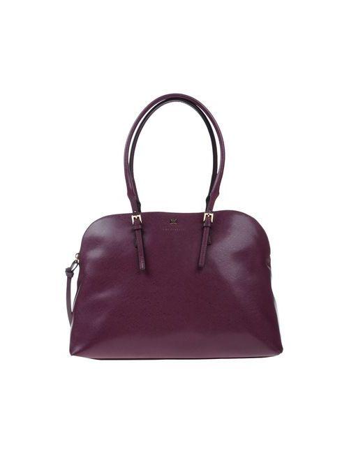 Coccinelle | Женская Фиолетовая Сумка На Руку