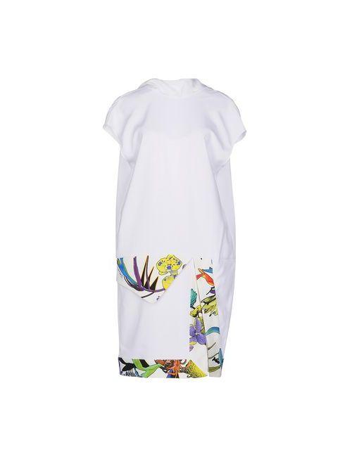 Just Cavalli | Женское Белое Короткое Платье