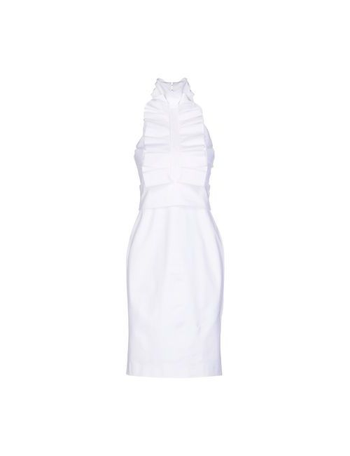 Dsquared2   Женское Белое Короткое Платье