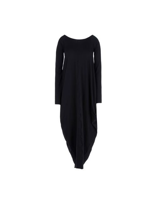 Lemuria | Женское Чёрное Длинное Платье