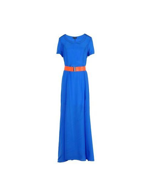 Who*S Who   Женское Синее Длинное Платье
