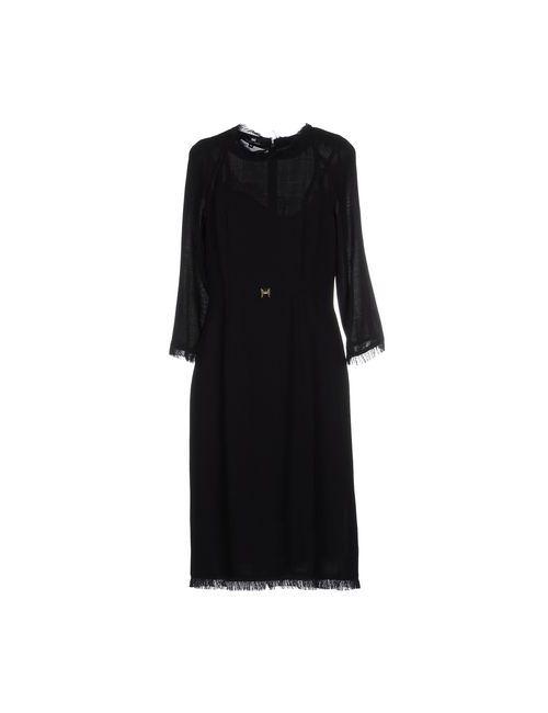 ELISABETTA FRANCHI | Женское Черный Платье До Колена
