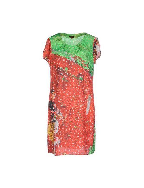 Aventures Des Toiles | Женское Зелёное Короткое Платье