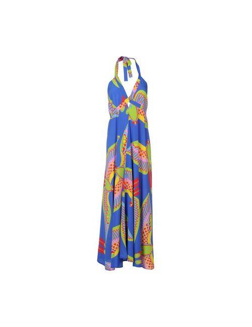 P.A.R.O.S.H. | Женское Синее Длинное Платье