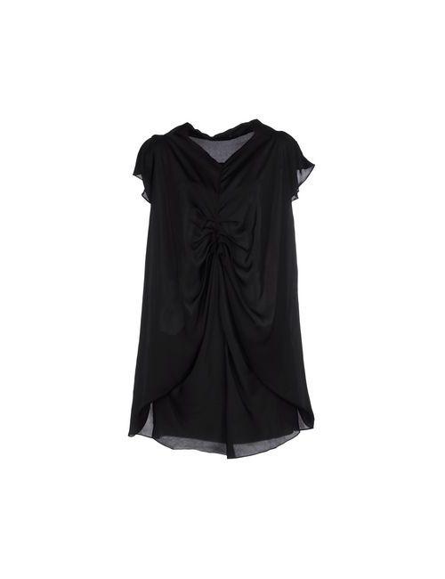 Mina Uk | Женское Чёрное Короткое Платье