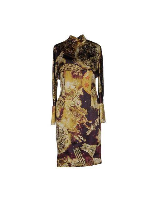 Richmond X   Женское Охра Платье До Колена
