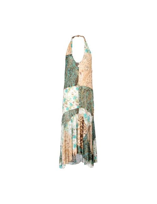 Class Roberto Cavalli | Женское Бежевое Платье До Колена
