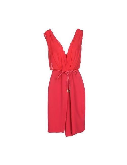 ELISABETTA FRANCHI | Женское Фуксия Короткое Платье