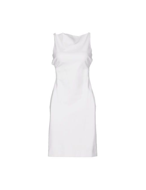 Dsquared2 | Женское Белое Платье До Колена