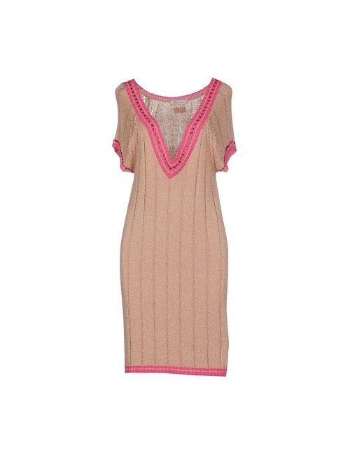 Vdp Collection | Женское Телесное Короткое Платье