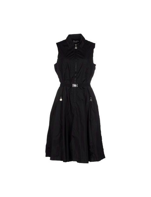 Moncler | Женское Чёрное Короткое Платье