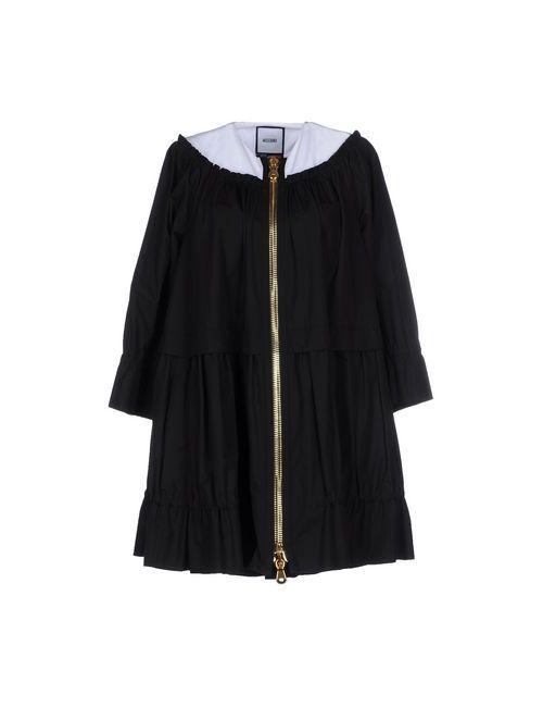 Moschino | Женское Чёрное Короткое Платье
